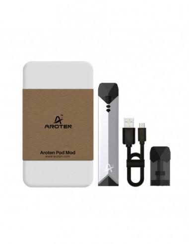 Aroten Pod System Kit - 400mAh Silver:0 0