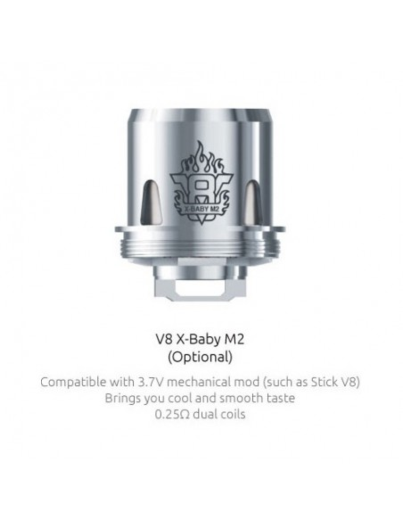 Smok X-baby coil  M2/Q2/X4/T6/RBA-Beast Brother x baby-M2:0 0