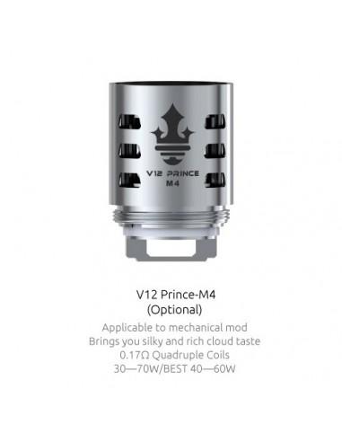 SMOK TFV12 Prince Coil(M4/Q4/X6/T10/RBA/Strip)-For TFV12 Prince Prince-M4:0 0