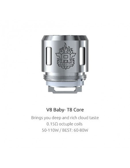 SMOK TFV8 Baby Coils(Q2/X4/T8/T6/M2/T12)-For TFV8 Baby