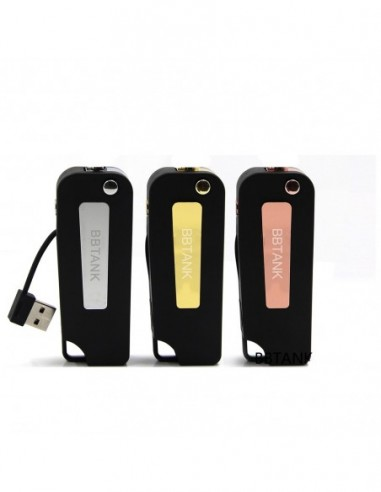BBTANK Key Box Mod 350mAh Battery 510 Threaded For Oil Cartridge 0