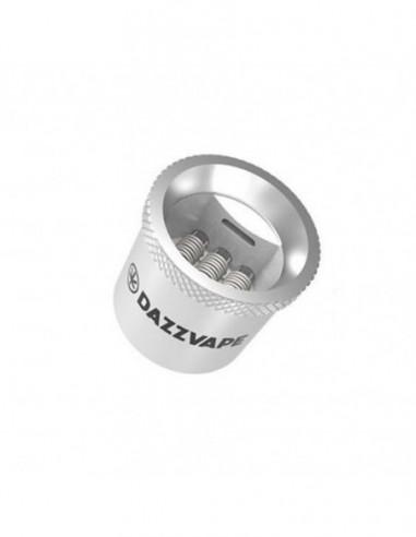 Dazzvape Melter Wax Vaporizer Replacement Coil Triple Titanium Quartz Coil 5pcs/pack 0