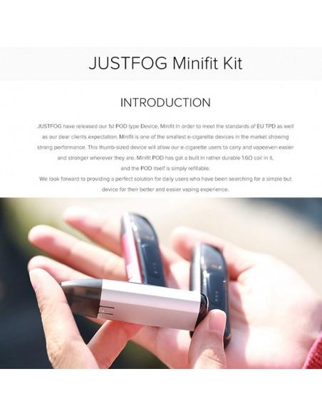 JUSTFOG Minifit Kit 370mAh AIO Pod System 1.5ml Capcity 2