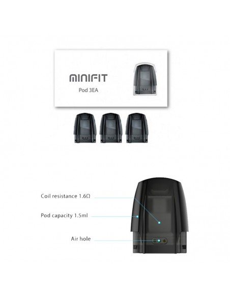 JUSTFOG Minifit Pod 3pcs/Pack For Minifit Kit 0