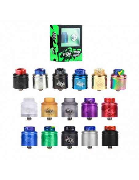 WOTOFO Profile 24mm Mesh RDA With Mesh Style Coil 0