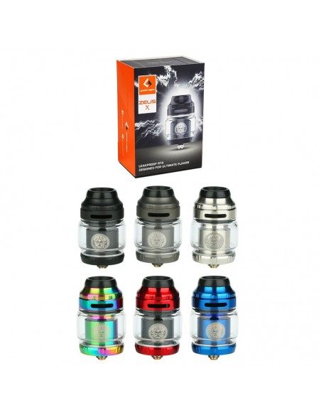 GEEKVAPE Zeus X RTA 4.5ml Top Airflow Tank 0