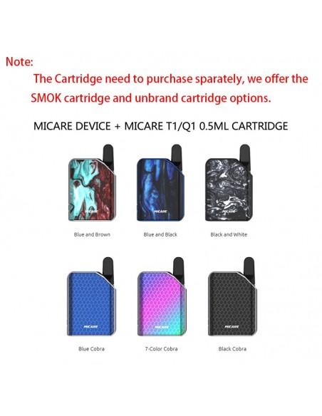 SMOK Micare Mod 700mAh Battery With Cartridge Option 2