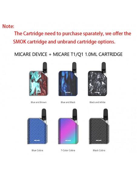SMOK Micare Mod 700mAh Battery With Cartridge Option 3