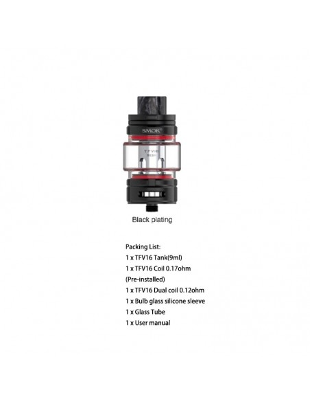 SMOK TFV16 Sub Ohm Tank 9ml With Mesh Coil 2