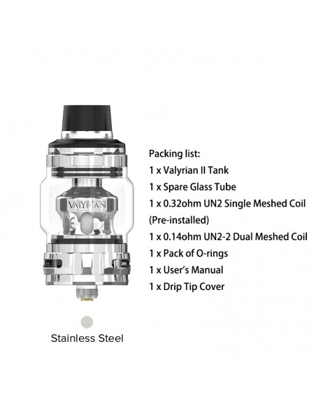 Valyrian Ⅱ Sub Ohm Tank & Mesh Coil 0