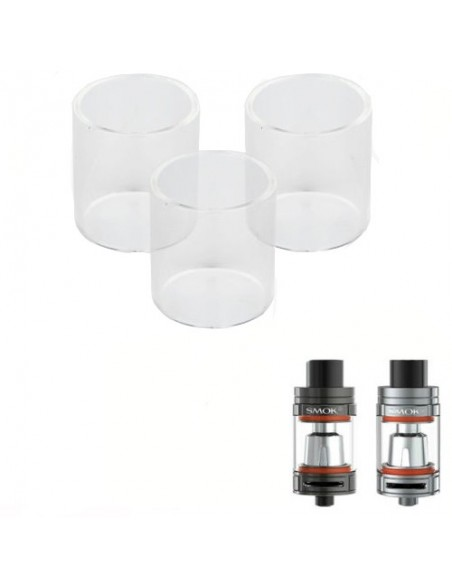 SMOK TFV8  Replacement Pyrex Glass 3ml/5ml/6ml/7ml 0