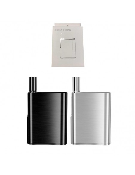 Eleaf iCare Flask Vape Kit: CBD Oil Vaporizer 510 thread 520mAh 0