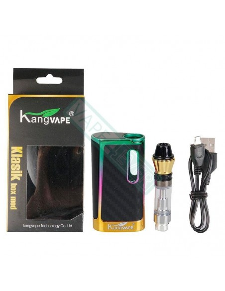 Kangvape Klasik Kit: 510 Thread CBD Vape Box Mod 650mah 1