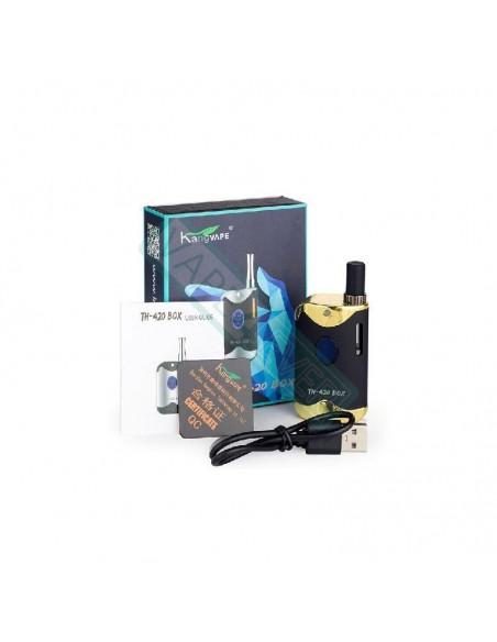 Kangvape TH-420 II Kit: 510 Thread CBD Vape Box Mod 650mah 1