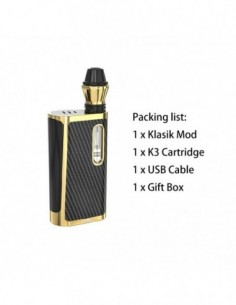 Kangvape Klasik Kit: 510 Thread CBD Vape Box Mod 650mah