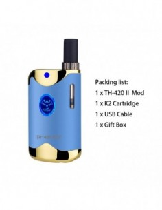Kangvape TH-420 II Kit: 510 Thread CBD Vape Box Mod 650mah