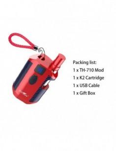 Kangvape TH-710 Vape Box Mod Kit: 510 Thread CBD Vaporizer 650mah