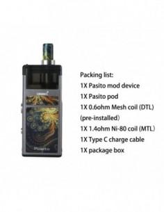 Smoant Pasito Rebuildable Pod System Box Mod Kit 1100mAh