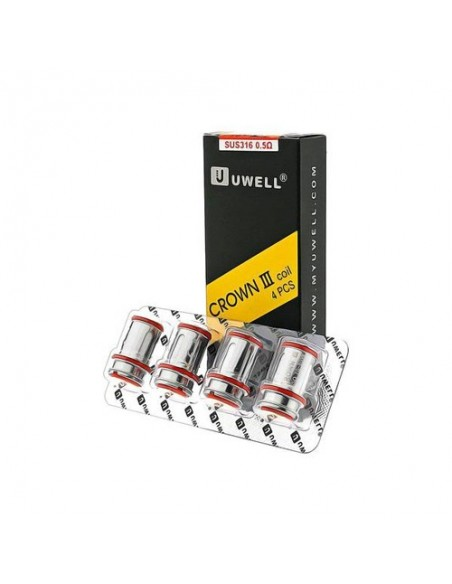 Uwell Crown 3 Replacement Coils For Uwell Crown 3 (0.25/0.4/0.5Ohm) 2