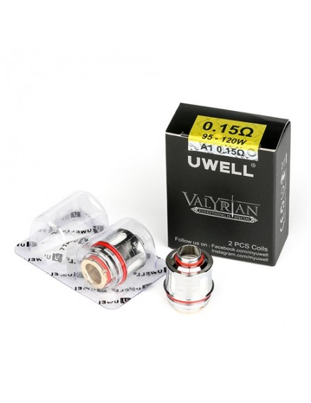 Uwell Valyrian Replacement Coils(0.15Ohm) For Uwell Valyrian Atomizer 1