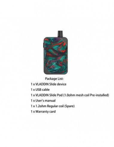 Vladdin Slide Kit 1000mAh Pod System Goblin Green Kit 1pcs:0 US