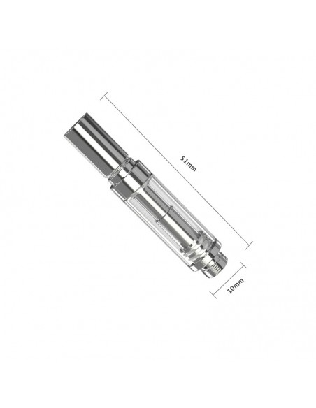 Eleaf iCare Flask Atomizer 1ml Cartridge Cartridge 1ml 1pcs:0 US