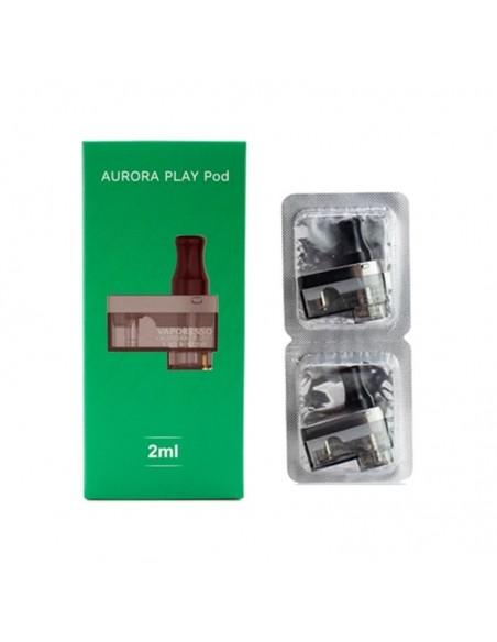 Vaporesso Aurora Play Replacement Pods 2pcs Cartridge 0