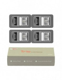 Yocan Trio Replacement Pods 4pcs Cartridge