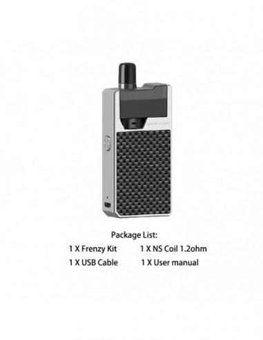 Geekvape Frenzy Pod Kit Carbon Fiber Silver Kit 1pcs:0 US