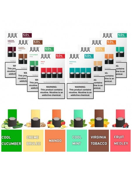 JUUL Pod Flavors 0