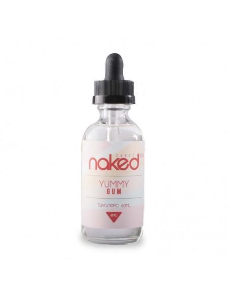 Naked 100 eJuice - Yummy Gum 6mg 60ml:0 US