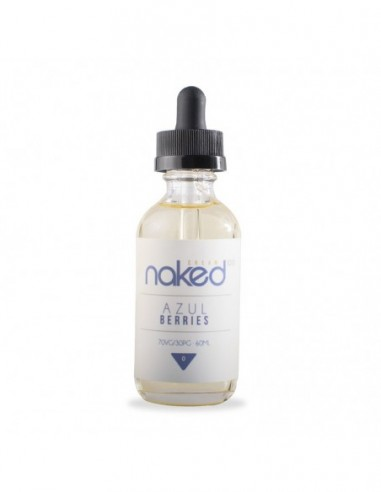 Naked 100 eJuice - Azul Berries 3mg 60ml:0 US