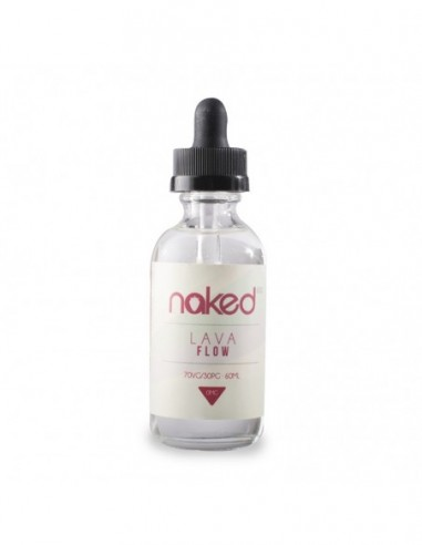 Naked 100 eJuice - Lava Flow 0mg 60ml:0 US