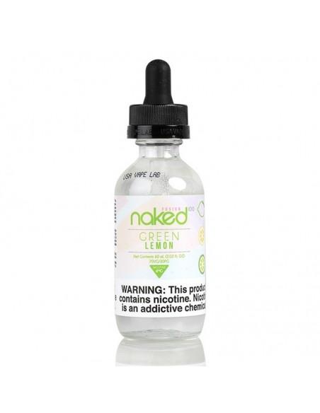 Naked 100 eJuice - Green Lemon 0mg 60ml:0 US