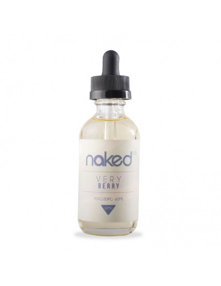 Naked 100 eJuice - Very Berry 0mg 60ml:0 US