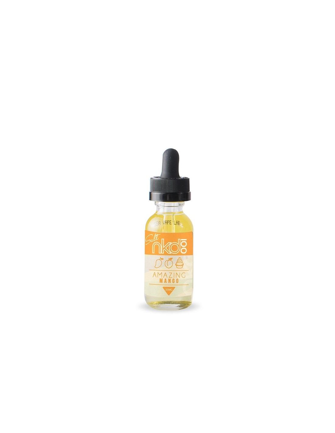 Naked 100 Ice Mango eLiquid 60ml - Vape Juice Depot