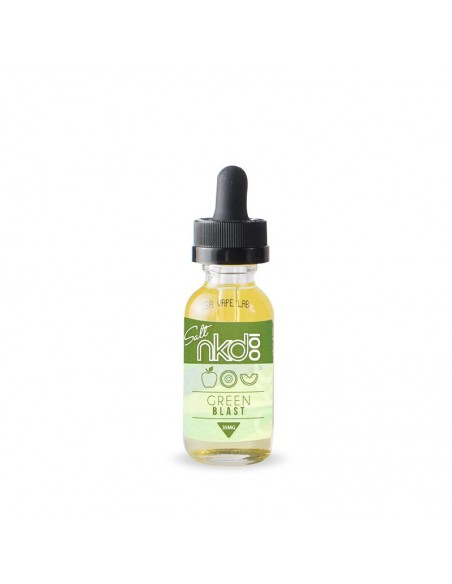 Nkd 100 Salt - Green Blast - Naked Vape Juice 35mg 30ml:0 US