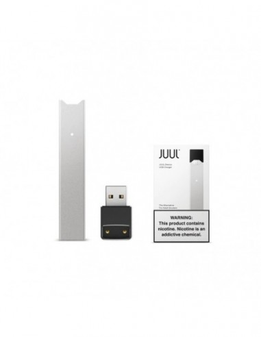 JUUL Device JUUL Device Silver 1pcs:0 US