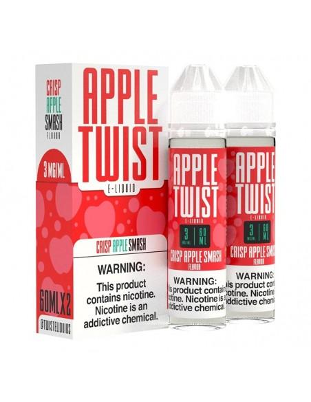 Apple Twist Vape Juice - Crisp Apple Smash 0