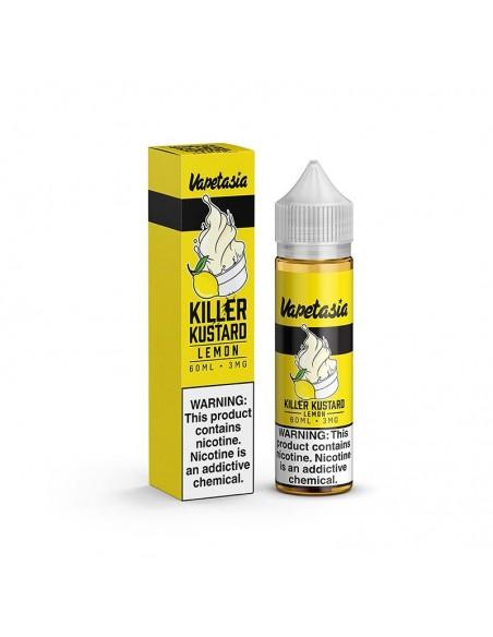 Killer Kustard Lemon - Vapetasia E-Liquid 0mg 60ml:0 US