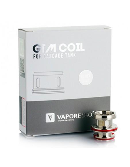Vaporesso GTM Coil For Cascade Tank(GTM2-0.4ohm/GTM8-0.15ohm) 0
