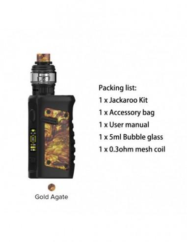 Vandy Vape Jackaroo Kit Gold Agate Kit 1pcs:0 US