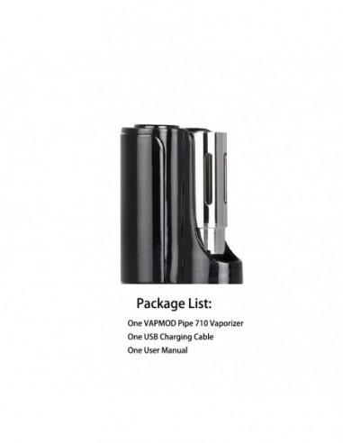 Vapmod Pipe 710 Mod Black Mod 1pcs:0 US