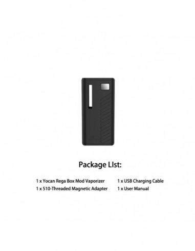 Yocan Rega Mod Black Mod 1pcs:0 US
