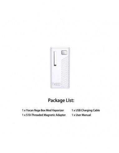 Yocan Rega Mod White Mod 1pcs:0 US