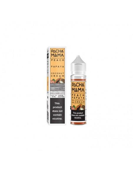 Peach Papaya Coconut Cream - Pachamama 0mg 60ml:0 US