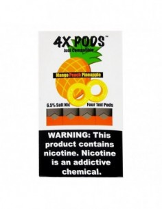Mango Peach Pineapple - 4X Pods Juul Compatible 0