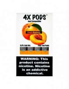 Peach Madness - 4X Pods Juul Compatible 0