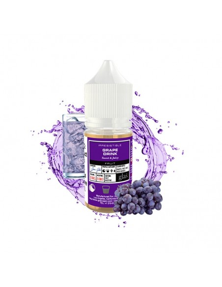 Grape Drink - Glas Basix Salt 30mg 30ml:0 US