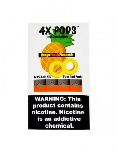 Mango Peach Pineapple - 4X Pods Juul Compatible 6.5% 4pcs:0 US